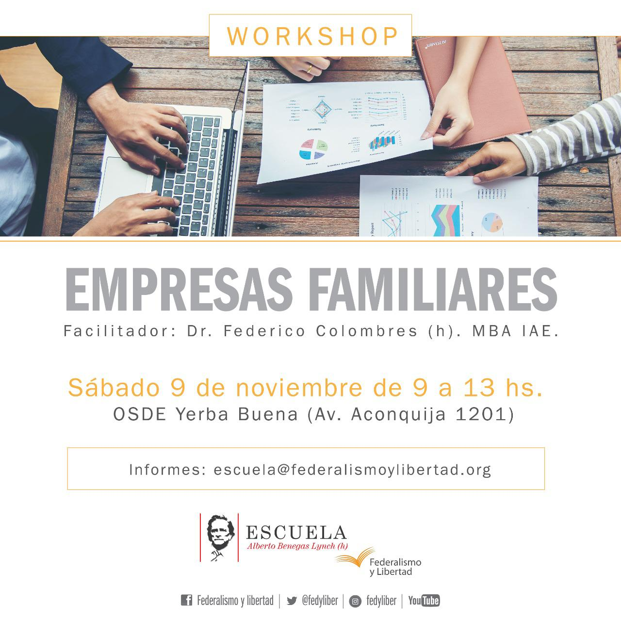 Workshop: Empresas familiares (Tucumán)